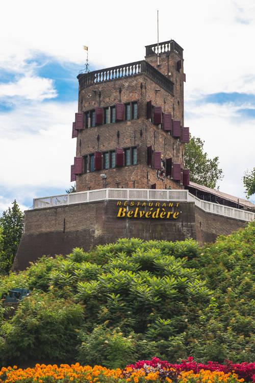 foto van de uitkijktoren Belvédère