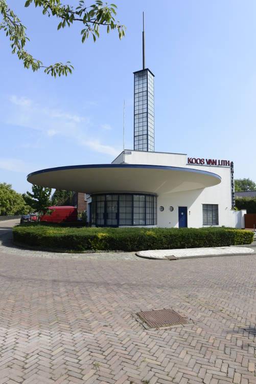foto van benzinestation Pomp van Merkus