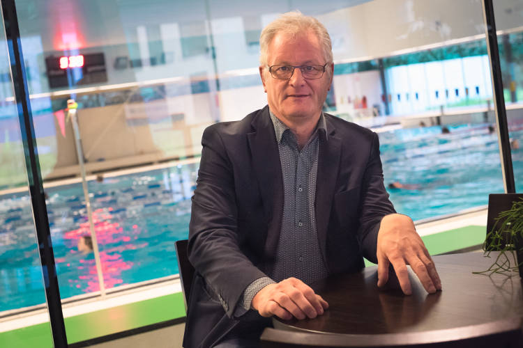 Foto directeur Sportfondsen Nijmegen, Heino Jacobs