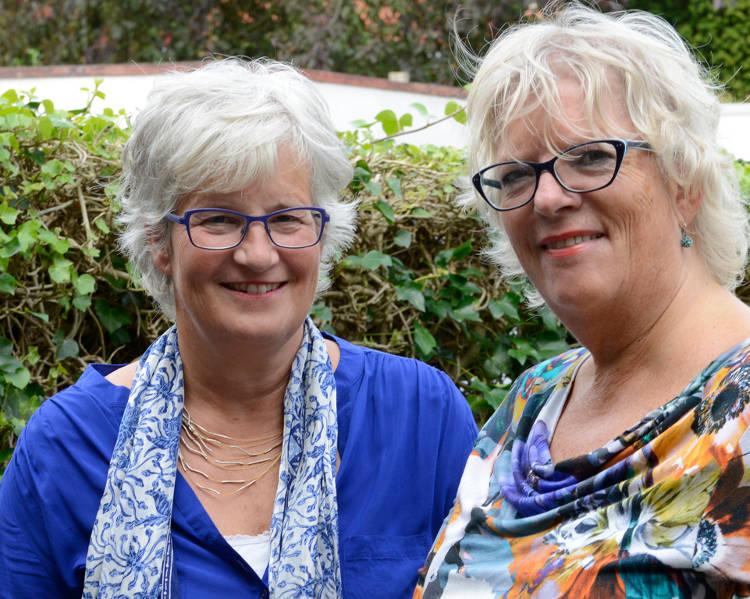 Foto Anita Jeukens en Alice Pleiter